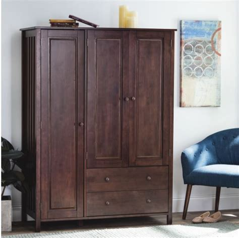 Large Wardrobe Closet by Bedroom Cabinet 4 Drawer Clothes Wardrobe Storage Dresser