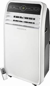 Insignia U2122 450 Sq  Ft  Portable Air Conditioner White  Gray Ns-ac10pwh9