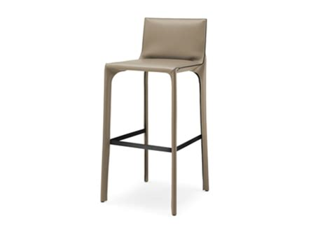 saddle chair bar stool with backrest by walter knoll