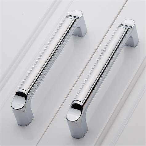 kitchen cabinet bar pull handles cc size 64mm zinc alloy cabinet handle cupboard drawer 7747
