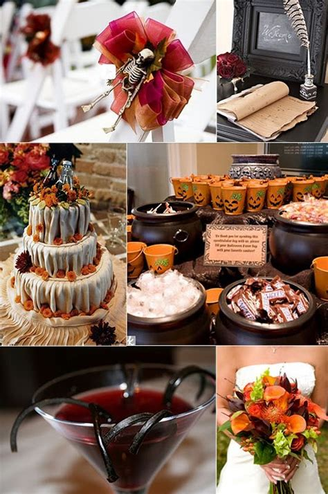 Halloween Themed Wedding, Party, Cocktail Party Birthday