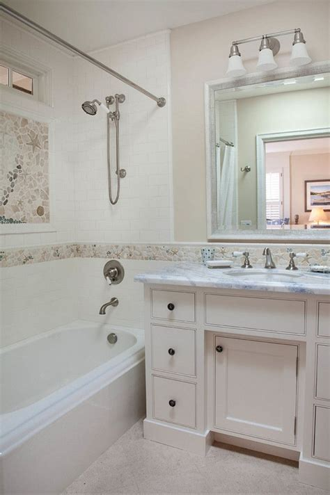 Neutral Bathrooms by Bathroom Coastal Tiles Bathroom Coastal Tile Ideas