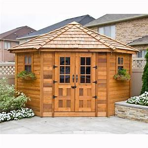 18 best images about storage sheds on pinterest storage With corner outdoor storage shed