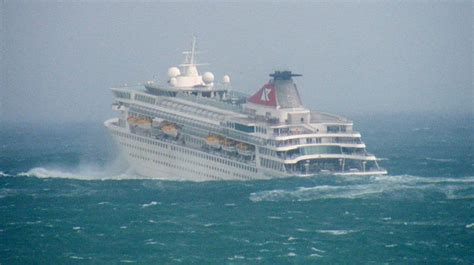 Pictured Storm Tosses Massive Cruise Liner Like A Toy ...