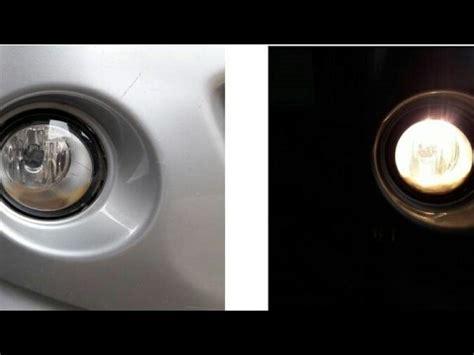 ganti lampu kabut fog lamp youtube