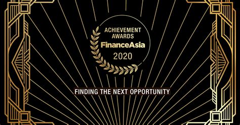 FinanceAsia Australia/NZ Achievement Awards 2020, why they ...