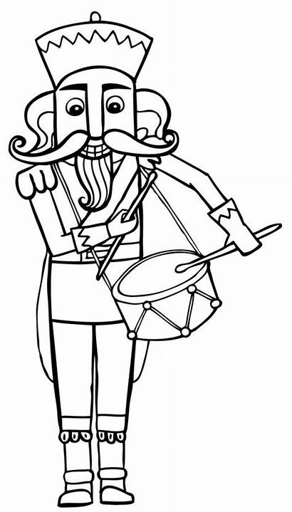Coloring Nutcracker Pages Printable