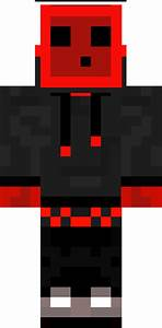 Cool Red Slime Teen Skin | Minecraft Skins