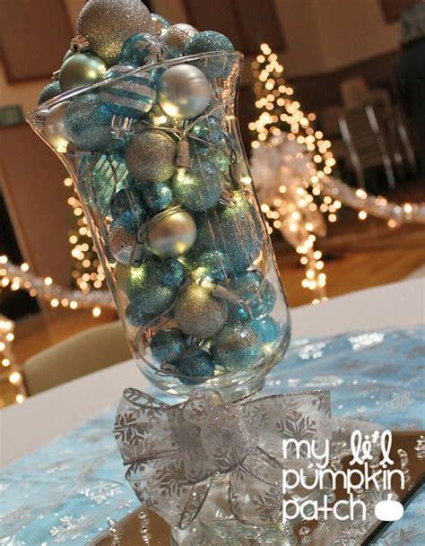 diy wedding decor  flower centerpiece baubles fairy