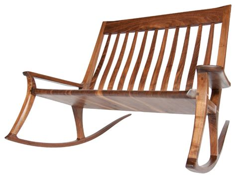 the wide a seat rocking chair contemporary