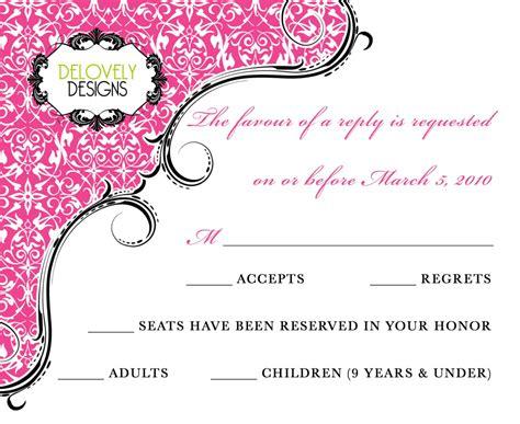 Delovely Designs New Wedding Invitation Design Rebekah