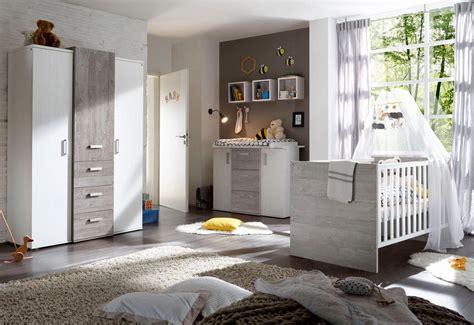 Komplett Babyzimmer »Helsinki« Babybett + Wickelkommode