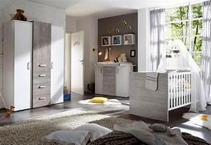 Babybett Weiss Komplett : komplett babyzimmer helsinki babybett wickelkommode kleiderschrank 3 tlg in vintage ~ Indierocktalk.com Haus und Dekorationen