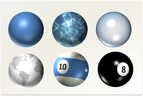 drawing  powerpoint spheres planets  balls