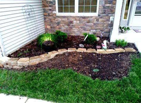 landscape idea front yard landscaping ideas on a budget