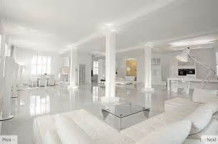 white interior design - White Home Interiors