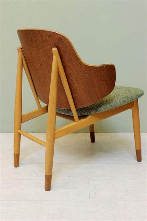 ib kofod larsen bent plywood chair mid century modern
