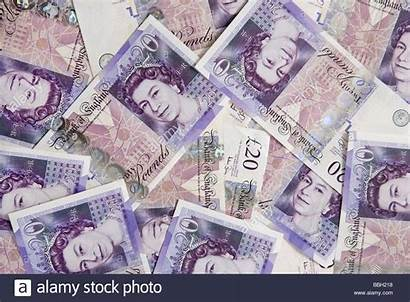 Pounds Pound Money Sterling Notes Note Currency