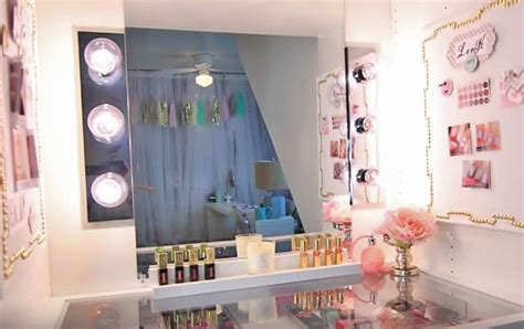 diy lighted mirror glam diy lighted vanity mirrors decorating your small space
