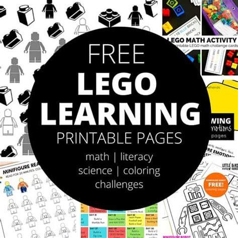 lego printables  kids  bins   hands