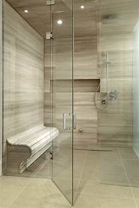 shower caddy Bathroom Contemporary with glass shower doors ...