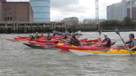 Kayak Club Boats by Thames Festival A Paddling 171 Chelsea Kayak Club