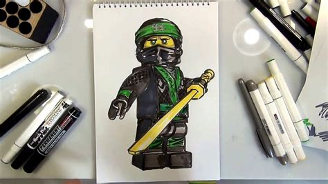 draw lloyd  lego ninjago  youtube