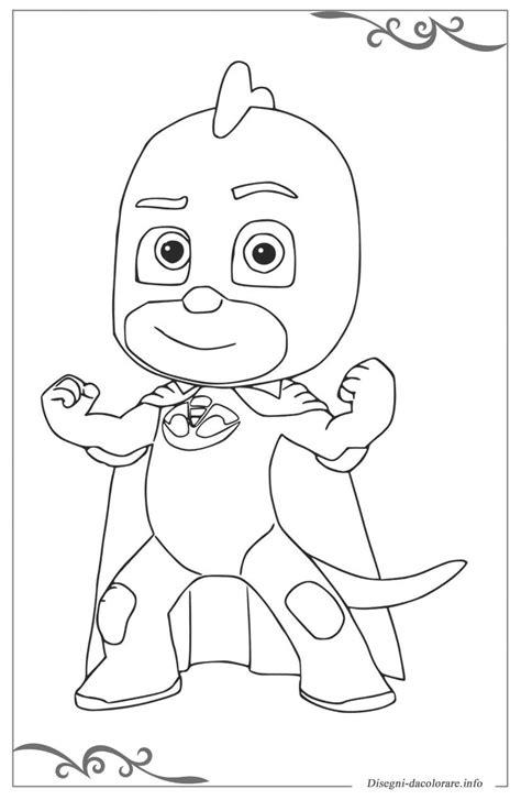 disegni da colorare per bambini pigiamini pj masks pigiamini immagini da colorare per