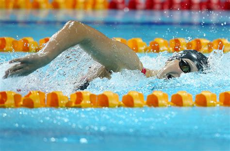 katie ledecky sets world record   meter freestyle