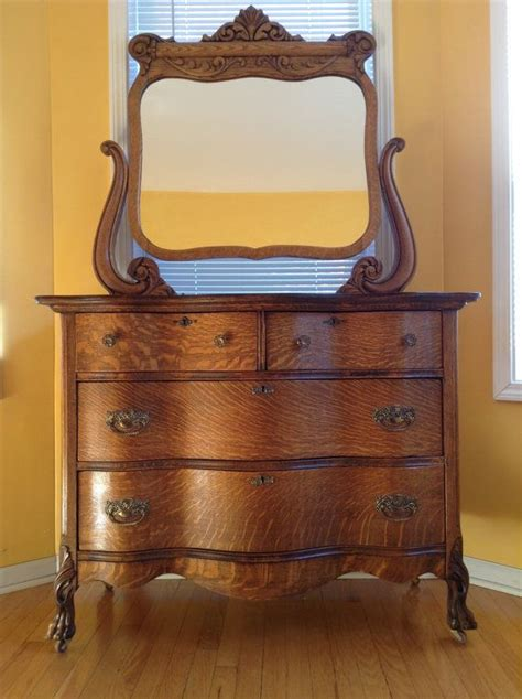 antique tiger oak dresser antique tiger oak dresser 1920 s for the home