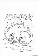 Coloring Cave Clipart Bear Summer Hibernation Pooh Winnie Printable Hibernating Cartoon Webstockreview Preschool Amazing Peep Wallpaperfor Bo Club sketch template