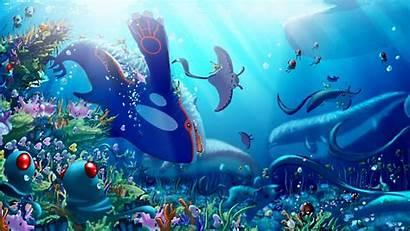 Pokemon Cool Wallpapers Sea Desktop Iphone Wallpapertag