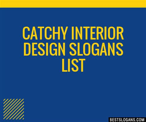 30+ Catchy Interior Design Slogans List, Taglines, Phrases