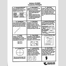 Vocabulary Strategies  Academic Vocabulary  Ideas For School  Pinterest  The O'jays, Social