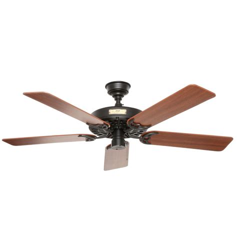 chronicle 54 ceiling fan hunter chronicle in outdoor matte black ceiling fan