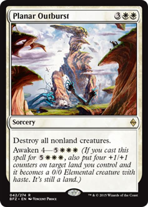 eldrazi r deck bfz battle for zendikar cards magic the gathering