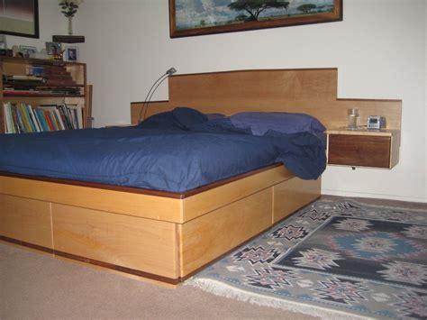 Bedrooms Queen Platform Bed With Storage Drawers Beds