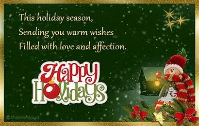 Wishes Warm Holiday Season Lovely Holidays Happy