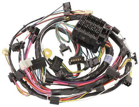 1972 Monte Carlo Wiring Harnes by M H Monte Carlo Dash Instrument Panel Harness
