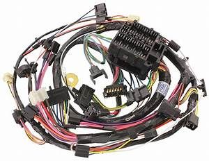M U0026h 1972 Chevelle Dash  Instrument Panel Harness All  Round