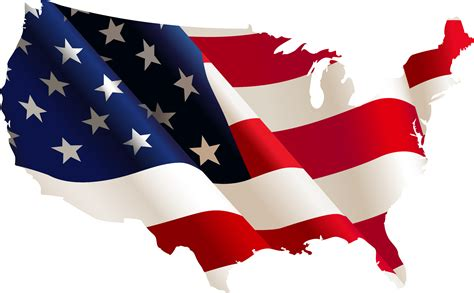 Hd Png Free Download America Transparent Flag Usa
