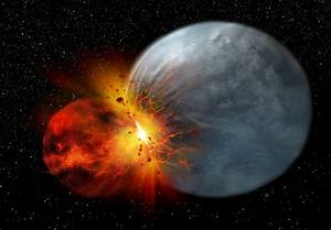 New Moon-Formation Theory Also Raises Questions About ...