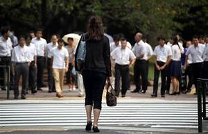 Deep changes urged in Japan's male-centered work culture ...