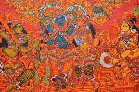 mural painting thrissur kerala india klairvoyant