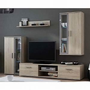 Banc Tv Suspendu : meuble tv dara s jour meuble tv ~ Teatrodelosmanantiales.com Idées de Décoration