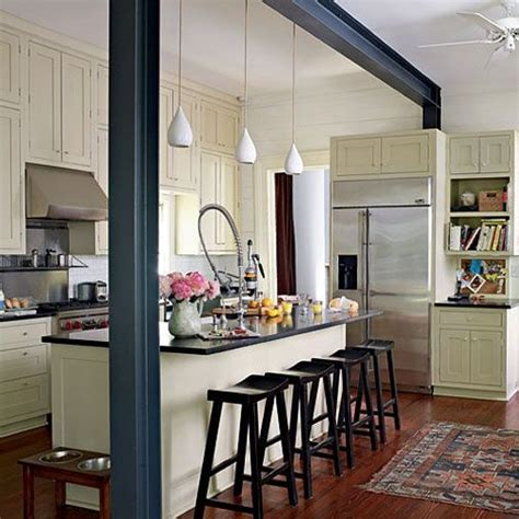 small galley kitchen with island 25 best ideas about kitchen island pillar on 8023
