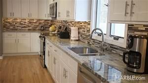 Viscont White Granite Kitchen Countertops