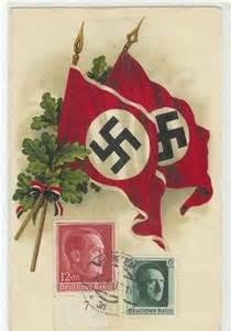 German Stamps Hitler Propaganda