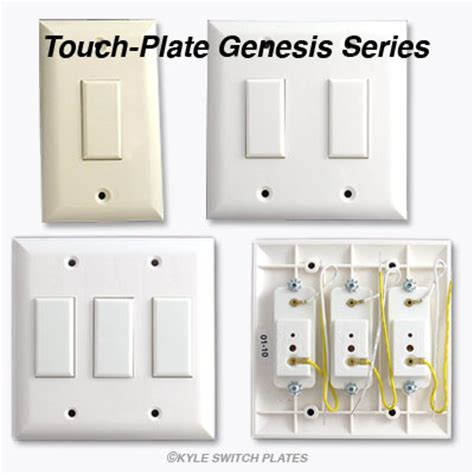 low voltage light switch touch plate genesis low voltage switches light switch plates