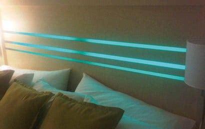 led headboard lighting ideas   bedroom